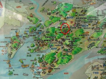 唐城(당성)~唐への海上交通の...